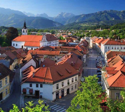medieval town Kamnik