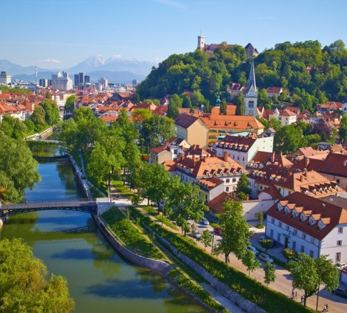 the capital of Slovenia - Ljubljana